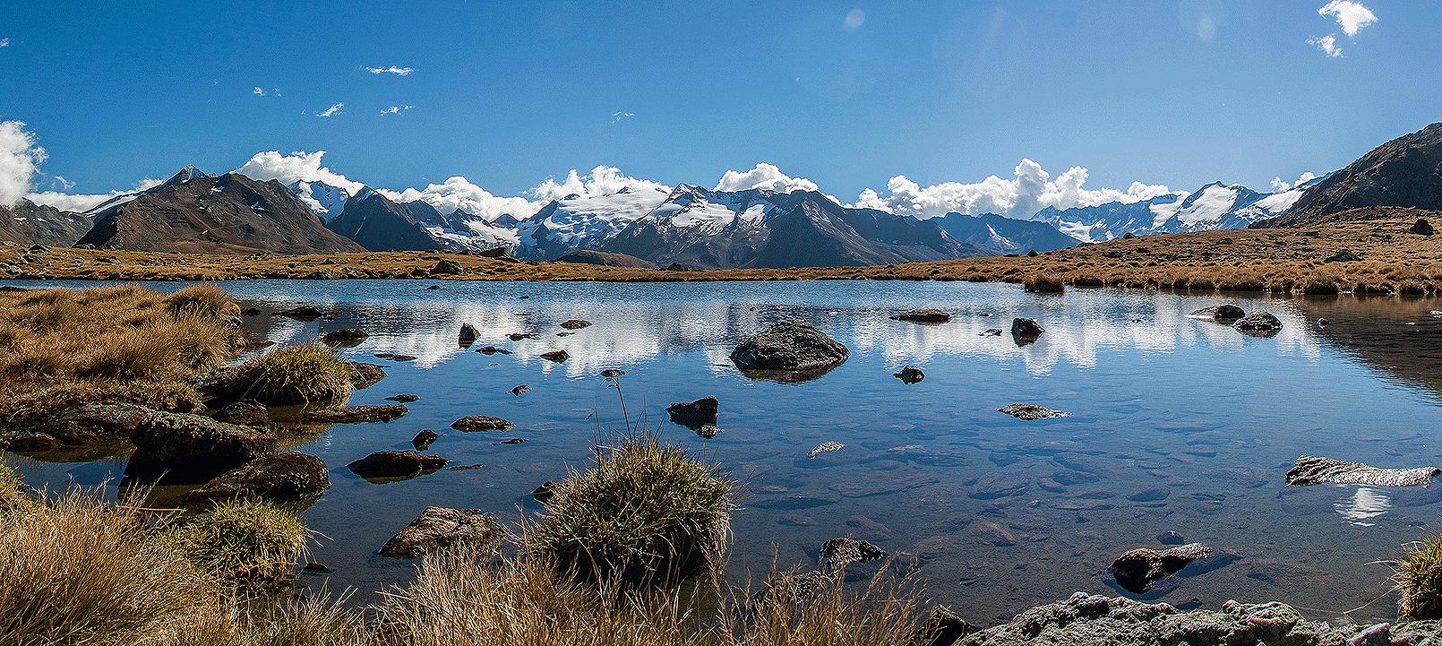Sommer-See-Berge