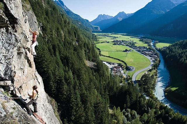 Klettern (Abenteuerurlaub) Ötztal