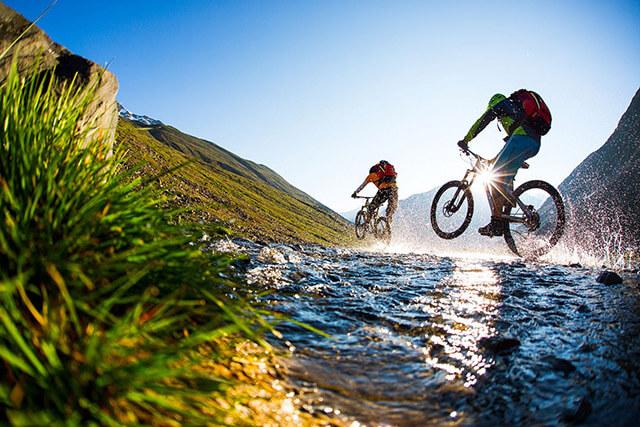 Mountainbiken; Mountainbikeurlaub Gries im Oetztal