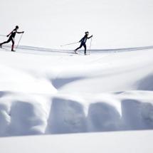 Schnee: Langlaufen im Ötztal